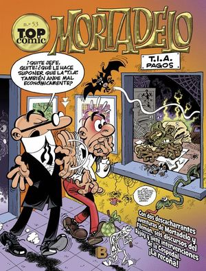 TOP COMIC MORTADELO Y FILEMON Nº53