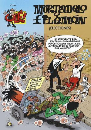 MORTADELO Y FILEMON ELECCIONES Nº203