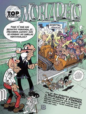TOP COMIC MORTADELO Nº55 LOS MONSTRUOS - EL CIRCO