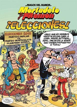 MORTADELO Y FILEMON ¡ELECCIONES! Nº179