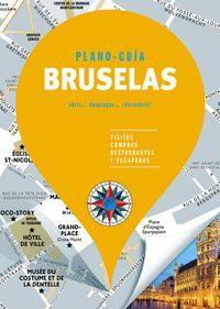 BRUSELAS (PLANO-GUÍA) SIN FRONTERAS 2019