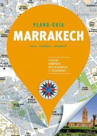 MARRAKECH (PLANO-GUÍA) SIN FRONTERAS 2019