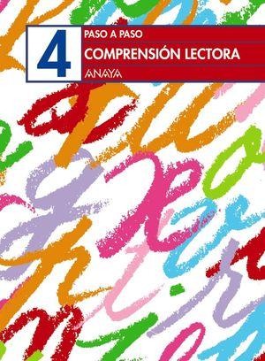 CUADERNO COMPRENSION LECTORA 4 PASO A PASO EP
