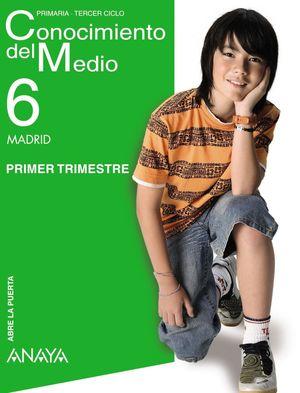 ABRE LA PUERTA, CONOCIMIENTO DEL MEDIO, 6 EDUCACIÓN PRIMARIA (MADRID)