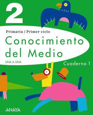CONOCIMIENTO DEL MEDIO 2. CUADERNO 1.