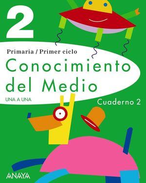 CONOCIMIENTO DEL MEDIO 2. CUADERNO 2.