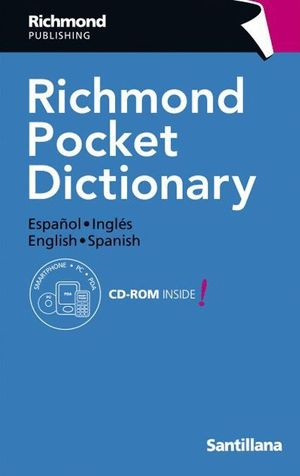 RICHMOND POCKET DICTIONARY + CD ESPAÑOL - INGLES - ESPAÑOL
