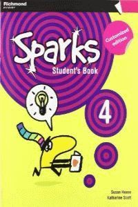 SPARKS 4 STUDENT'S BOOK CUSTOMIZED