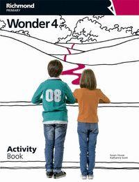 WONDER 4º EP ACTIVITY BOOK +CD 2015