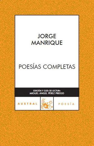 POESIAS COMPLETAS -MANRIQUE-