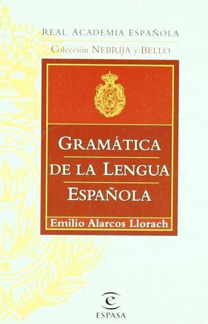 GRAMATICA DE LA LENGUA ESPAÑOLA (RAE)