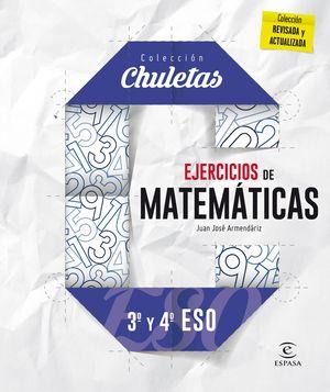 EJERCICIOS MATEMÁTICAS 3º Y 4º ESO (CHULETAS)