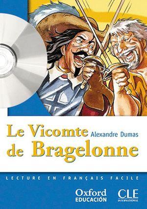 LE VICOMTE DE BRAGELONNE. LECTURE + CD-AUDIO