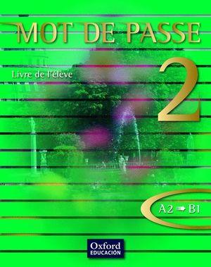 MOT DE PASSE 2 LIVRE ELEVE