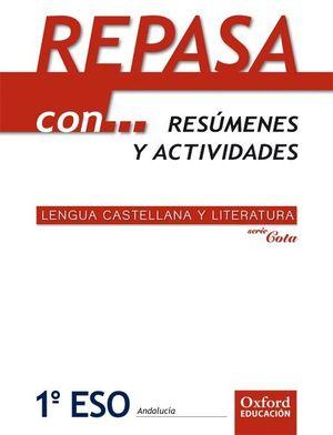 LENGUA CASTELLANA Y LITERATURA 1.º ESO. REPASA CON? ADARVE COTA (ANDALUCÍA)