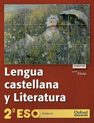 LENGUA CASTELLANA Y LITERATURA 2.º ESO. ADARVE COTA (ANDALUCÍA)
