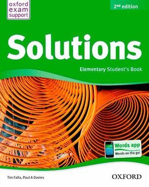 SOLUTIONS ELEMENTARY STUDENT'S BOOK PACK 2ª EDICION