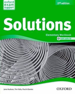 SOLUTIONS ELEMENTARY WORKBOOK & CD PACK 2ª EDICION