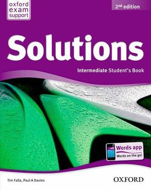 SOLUTIONS INTERMEDIATE STUDENT'S BOOK PACK 2ª EDICION