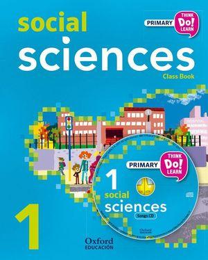 THINK DO LEARN SOCIAL SCIENCE 1ºEPP STUDENT'S BOOK + CD 2015