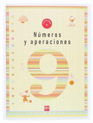 NUMEROS Y OPERACIONES 9 EP CUADERNO