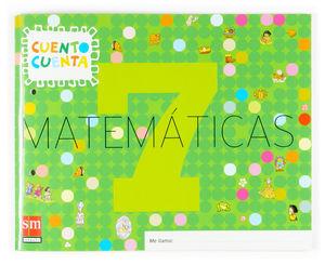 MATEMATICAS 7. 5 AÑOS 2007 CUENTO CUENTA