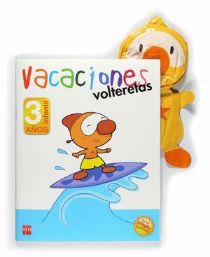 VACACIONES. 3 AÑOS. VOLTERETAS
