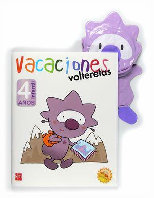 VACACIONES. 4 AÑOS. VOLTERETAS