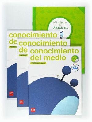 CONOCIMIENTO DEL MEDIO. 2 PRIMARIA. CONECTA CON PUPI. ANDALUCÍA. TRIMESTRES
