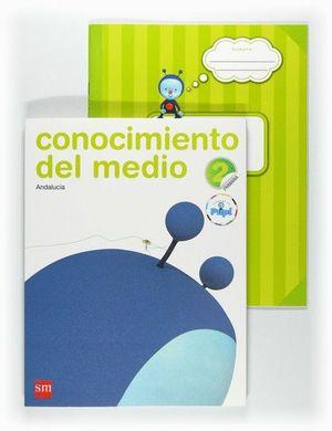 CONOCIMIENTO DEL MEDIO. 2 PRIMARIA. CONECTA CON PUPI. ANDALUCÍA
