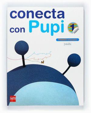 MÉTODO GLOBALIZADO, PAUTA. 1 PRIMARIA, 1 TRIMESTRE. CONECTA CON PUPI