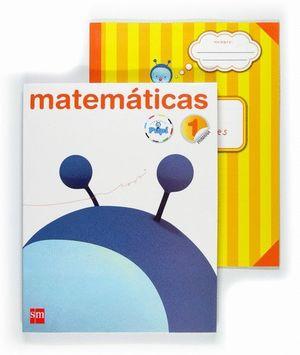 MATEMÁTICAS. 1 PRIMARIA. CONECTA CON PUPI