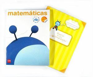 MATEMÁTICAS. 2 PRIMARIA. CONECTA CON PUPI