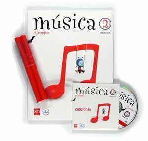 MÚSICA, AL COMPÁS. 2 PRIMARIA. CONECTA CON PUPI. ANDALUCÍA