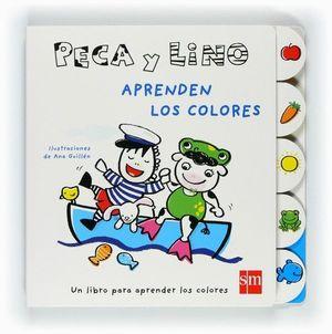 PECA Y LINO APRENDEN LOS COLORES