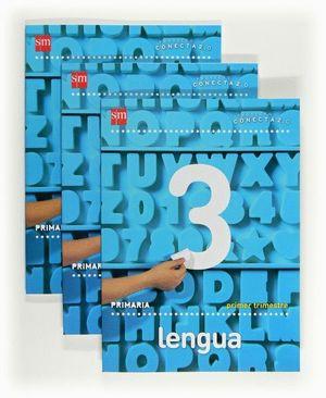 LENGUA. 3 PRIMARIA. CONECTA 2.0. TRIMESTRES