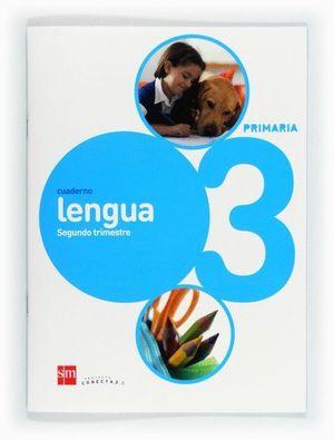 CUADERNO DE LENGUA. 3 PRIMARIA, 2 TRIMESTRE. CONECTA 2.0