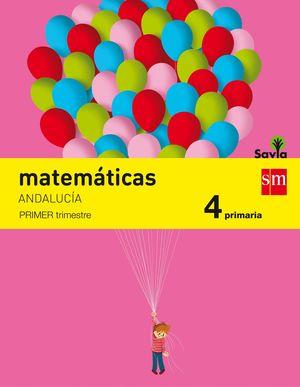 MATEMATICAS 4ºPRIM. TRIMESTRES SAVIA 2015