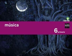 MÚSICA. 6 PRIMARIA. SAVIA