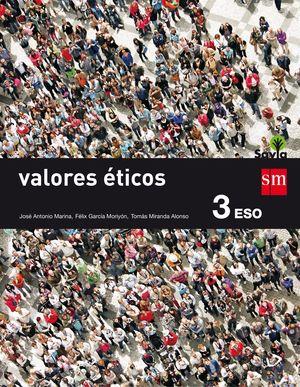 VALORES ETICOS 3º ESO (SAVIA)