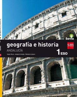GEOGRAFIA E HISTORIA. 1 ESO. SAVIA. ANDALUCIA