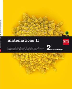MATEMATICAS II 2ºBACHILLERATO SAVIA 2016