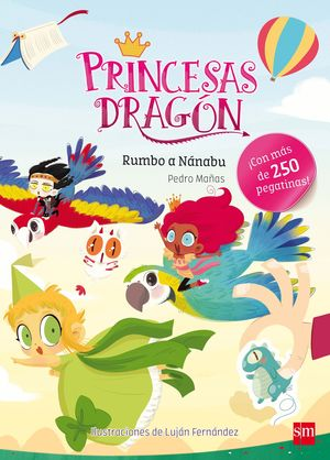PRINCESAS DRAGON RUMBO A NANABU