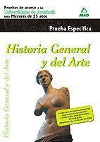 HISTORIA GENERAL Y DEL ARTE FASE ESPECIFICA (2009)