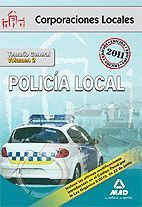 POLICÍA LOCAL. TEMARIO GENERAL VOLUMEN II