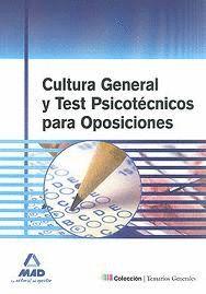 CULTURA GENERAL Y TEST PSICOTÉCNICOS PARA OPOSICIONES