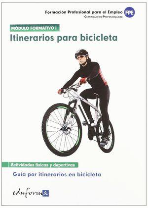 ITINERARIOS PARA BICICLETA