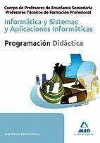 CUERPO DE PROFESORES DE ENSEÑANZA SECUNDARIA Y PROFESORES TÉCNICOS DE FORMACIÓN