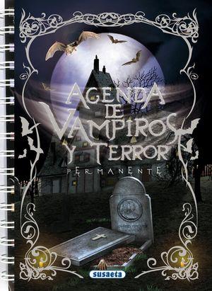 AGENDA DE VAMPIROS Y TERROR (PERMANENTE Y ESPIRAL)