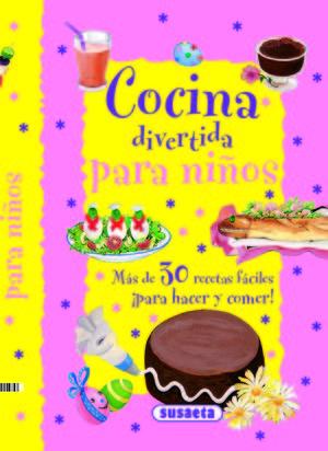 COCINA DIVERTIDA PARA NIÑOS (ROSA)